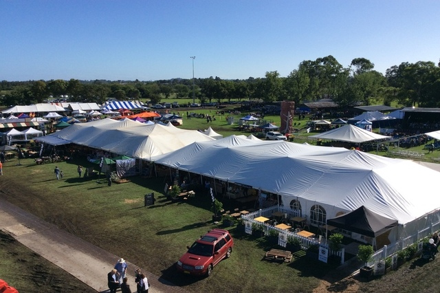 50x100 marquees at Camden Show